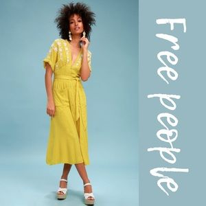 Free People Love to Love Midi Dress Adult XS-S